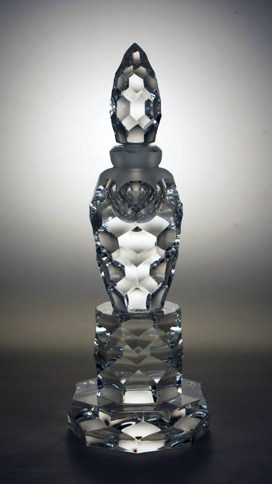 New Crystal Bottle August 2015, a little more work to do